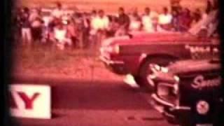 Dorothy Davis drag racing her 426 hemi 1964 dodge 1960's
