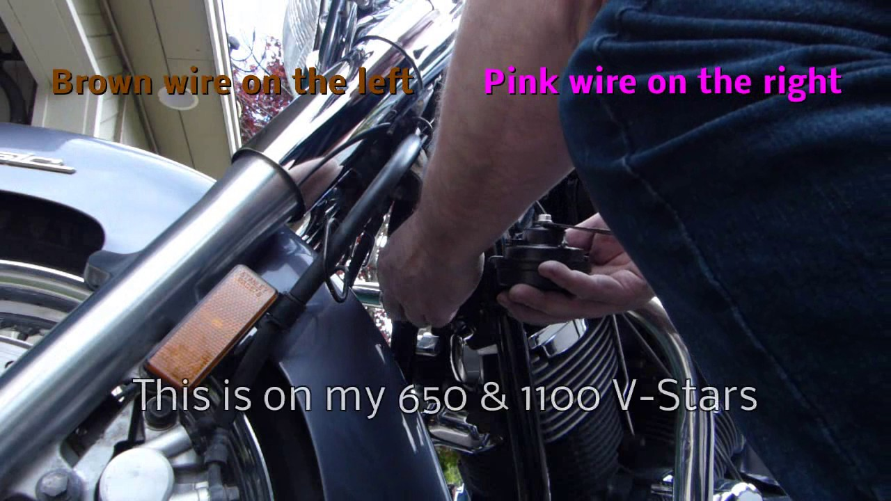 How To Install An After Market Horn Can You Hear Me Now Youtube V Star 1300 Wiring Diagram