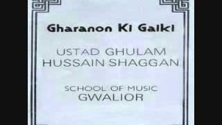 Raag Ramkali -by Ustad Ghulam Hussain Shaggan
