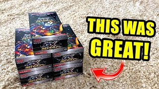 *TONS OF SHINY POKEMON CARDS PULLED!* Opening Pokemon GX ULTRA SHINY Booster Boxes!