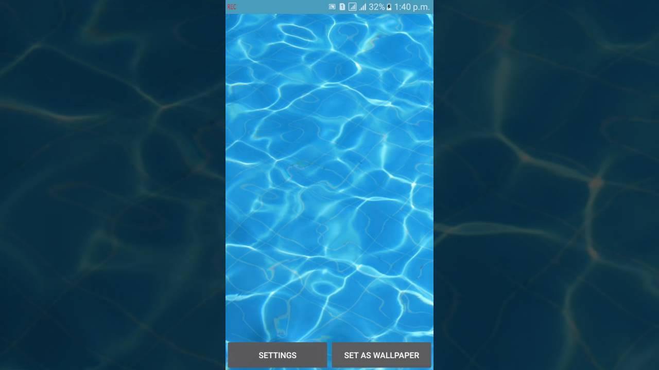 Water Drop Live Wallpaper Tutorial