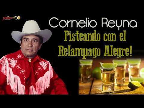 Cornelio Reyna - Pisteando Con El Relampago Alegre!! 100% Norteño!