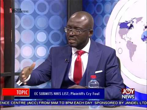 EC Submits NHIS List - PM Express on Joy News (30-6-16)