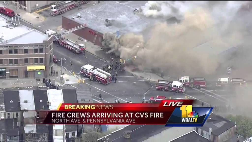 cvs pharmacy set on fire youtube