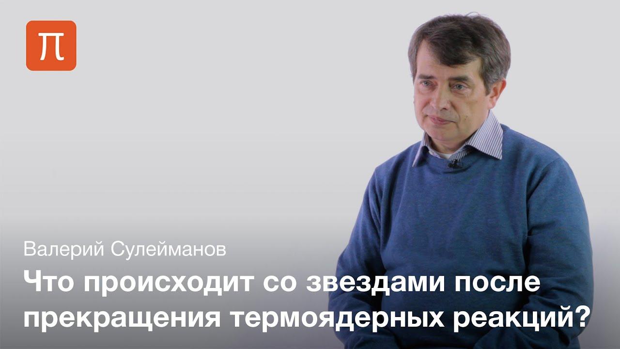 Термоядерные реакции и компактные объекты — Валерий Сулейманов