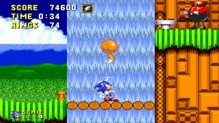 [TAS] Sonic 2 S3 Edition - First Zone in 1:29 [VERY FAST]