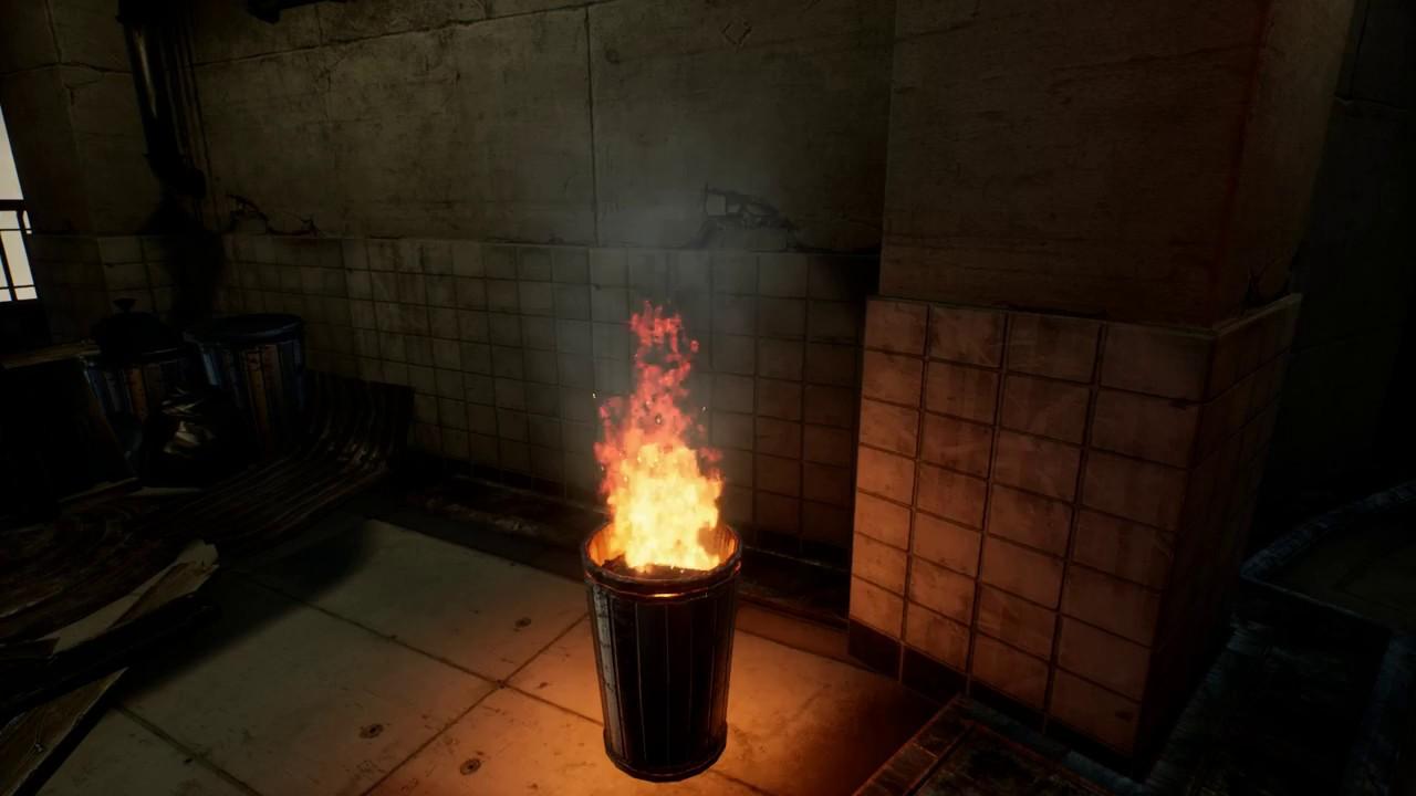 Joyce Webb - CGMA VFX For Games - Week 3 - Burning Barrel