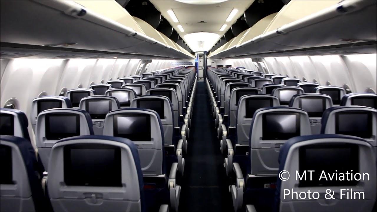 Delta 737 900 Cabin Tour Comfort Youtube