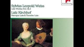 **ヴァイス: リュート作品集 キルヒホーフ(ルッツ) Vol. 1