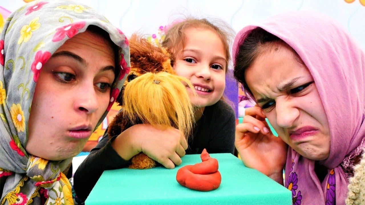 Fındık ailesi çocuk dizisi. Selin gizlice eve kopek getiriyor