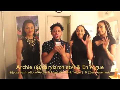Pop Smash (Daryl Archie) Interviews En Vogue