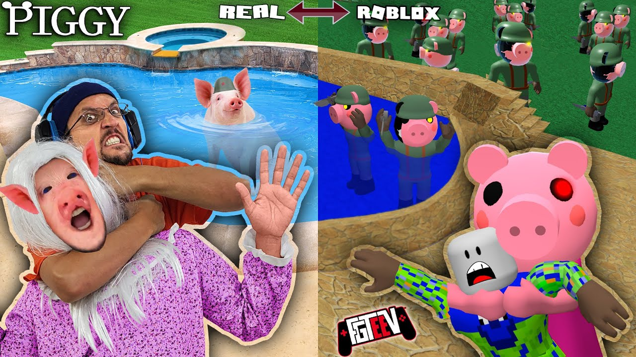 roblox piggy escape fgteev s backyard map custom house tour build mode update youtube roblox piggy escape fgteev s backyard map custom house tour build mode update