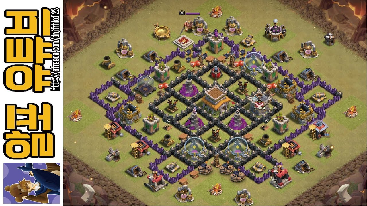 Clash of clans 8 best town hall 8 war