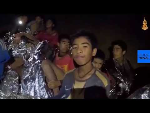 Thai boys receive medical care in cave
