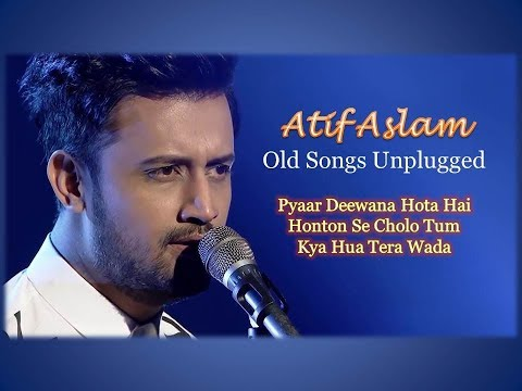 Atif Aslam Old Songs Live And Unplugged | Pyaar Deewana Hota Hai | Honton Se Cholo Tum |