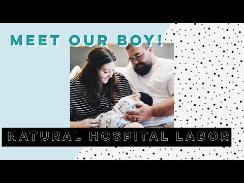 VLOG 9 - WE HAD A BABY! - Natural Hospital Birth