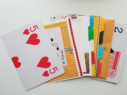 JUMBO Playing Card Journal: Part 1