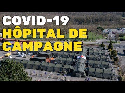 COVID-19 : déploiement dun élément militaire de réanimation