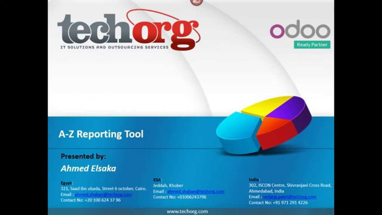 A_Z Reporting Tool (Odoo App)