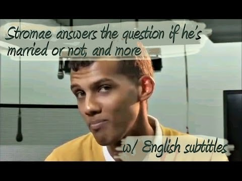 Stromae answers the question if he's married or not, and more [w/ English Subtitles]