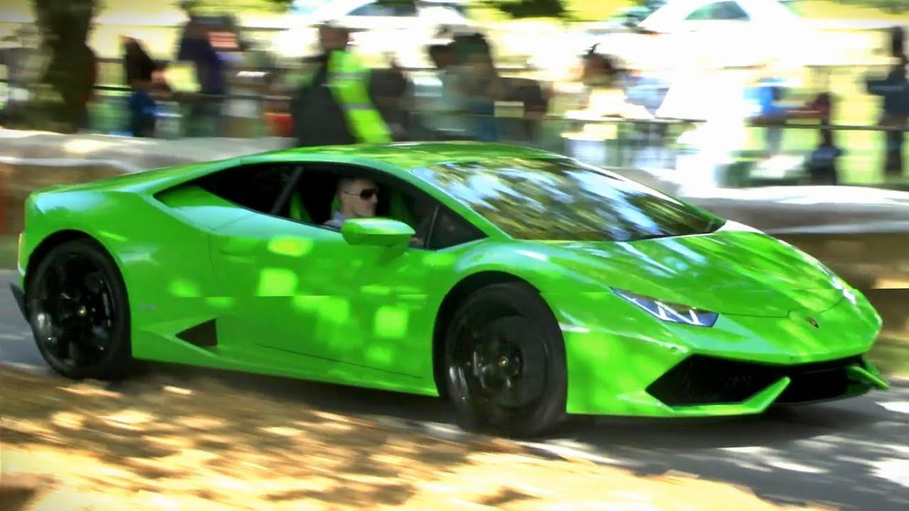 Supercar 0-60mph accelerations