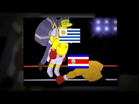 Uruguay vs Costa Rica 1-3 Mundial Brasil 2014 Los Mejores Memes