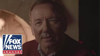 Kevin Spacey posts another bizarre Christmas Eve video