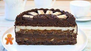 Торт Сникерс Настоящий Мужской Торт