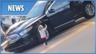 Police release new video of toddler supposedly 'held at gunpoint'