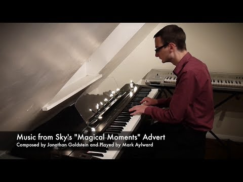 Christmas Sky Advert 2013 - Magical Moments (Waiting For You) by Jonathan Goldstein (Piano Cover)
