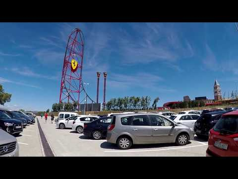 2017/07/01 1 From Valencia to PortAventura Park   Ferrari Land