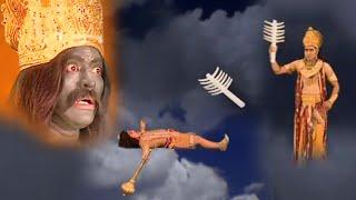 मारुति पर बज्र का प्रहार करते ही पूरा ब्रह्मांड थम गया - फिर मारुती से बने हनुमान - Bhakti Video