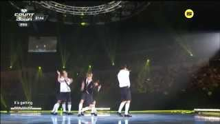 live hd   140814 b1a4 what s happening solo day mnet m countdown kcon 2night in l a