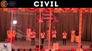 KIT Meraki 2K18 Traditional Day Performance | Civil Department | Fusion of Traditions