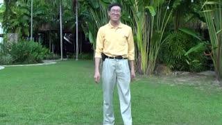 何永慶社長 示範 經絡拍打 18min (清胃腸 淨肝膽 健康促進營)