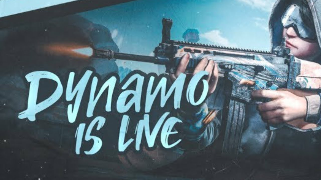 PUBG MOBILE LIVE WITH DYNAMO GAMING |