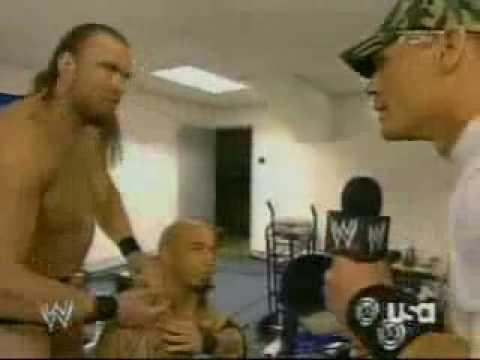 John Cena candice michelle y maria