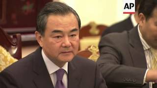 Vietnam's Foreign Minister Pham Binh Minh meets Chinese counterpart Wang Yi