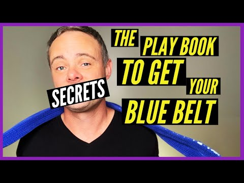 How to Get Your BJJ BLUE BELT FAST (EXACTLY WHAT YOU NEED)