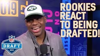 Rookies React to Being Drafted! | 2019 NFL Draft