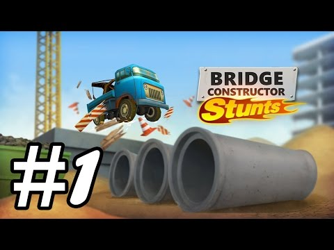 Bridge Constructor Stunts - iOS / Android Gameplay Video - PART 1