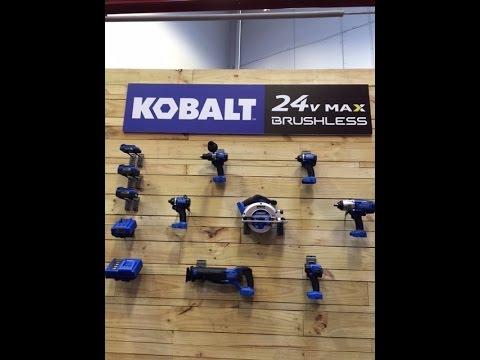 Kobalt 24 Volt Brushless Tools