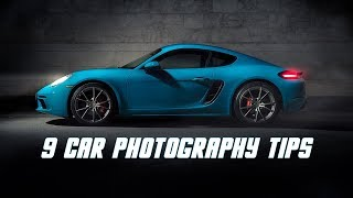 9 Car Photography Tips - (With Examples)