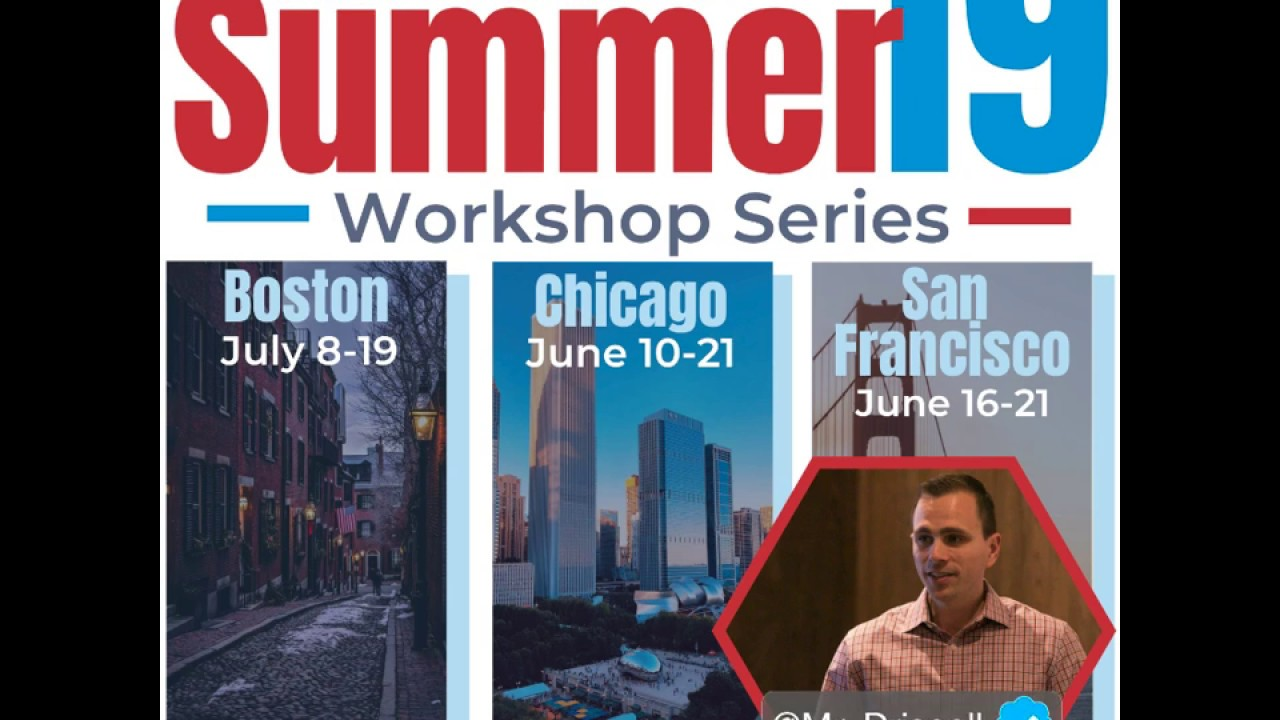 EdTechTeacher Summer Workshops 2019