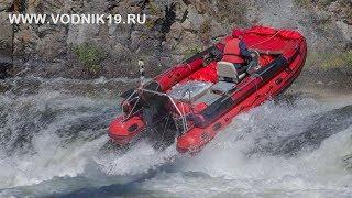 ВОДОМЕТНЫЙ ШТУРМ порога на горной реке лодками Фрегат (вверх)  водометное сафари (полная версия)