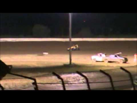 Matt Humphrey- Heat Race at Clay County Speedway 9-6-14
