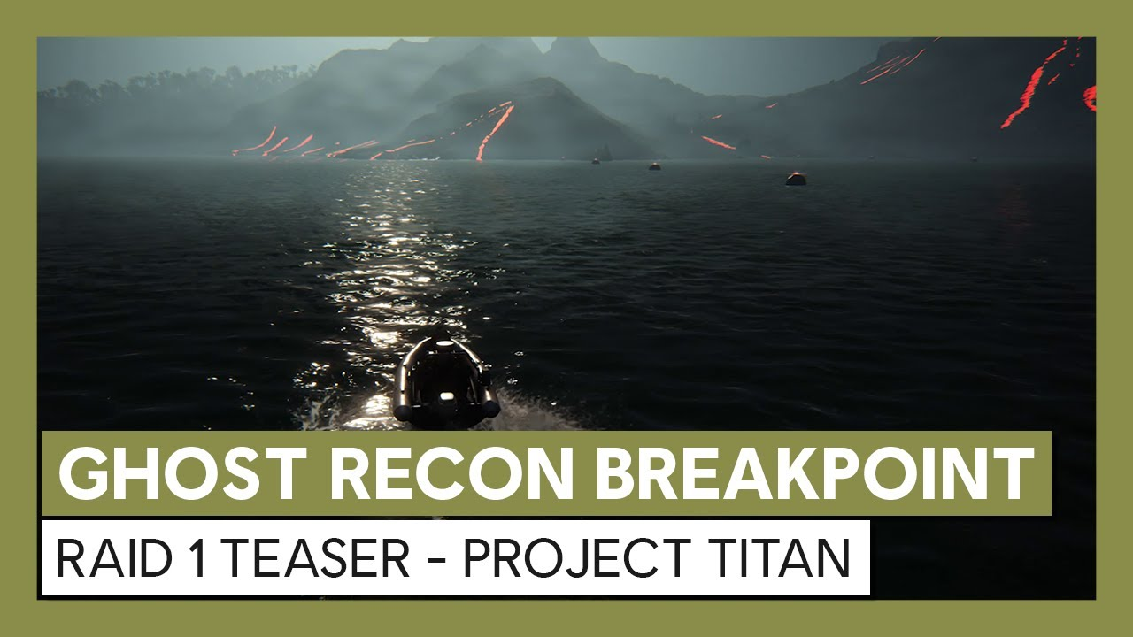 Ghost Recon Breakpoint: Raid 1 Teaser - Project Titan