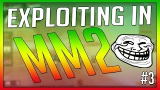 ROBLOX - Exploiting on Murder Mystery 2 WITH FACECAM! #3