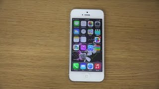 iPhone 5 iOS 8.0.2 - Review (4K)