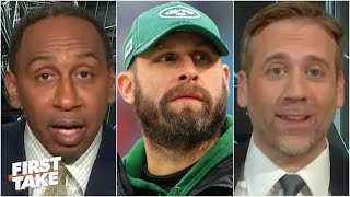 The Jets can't even win at losing! - Stephen A. & Max react to the Rams' upset | First Take